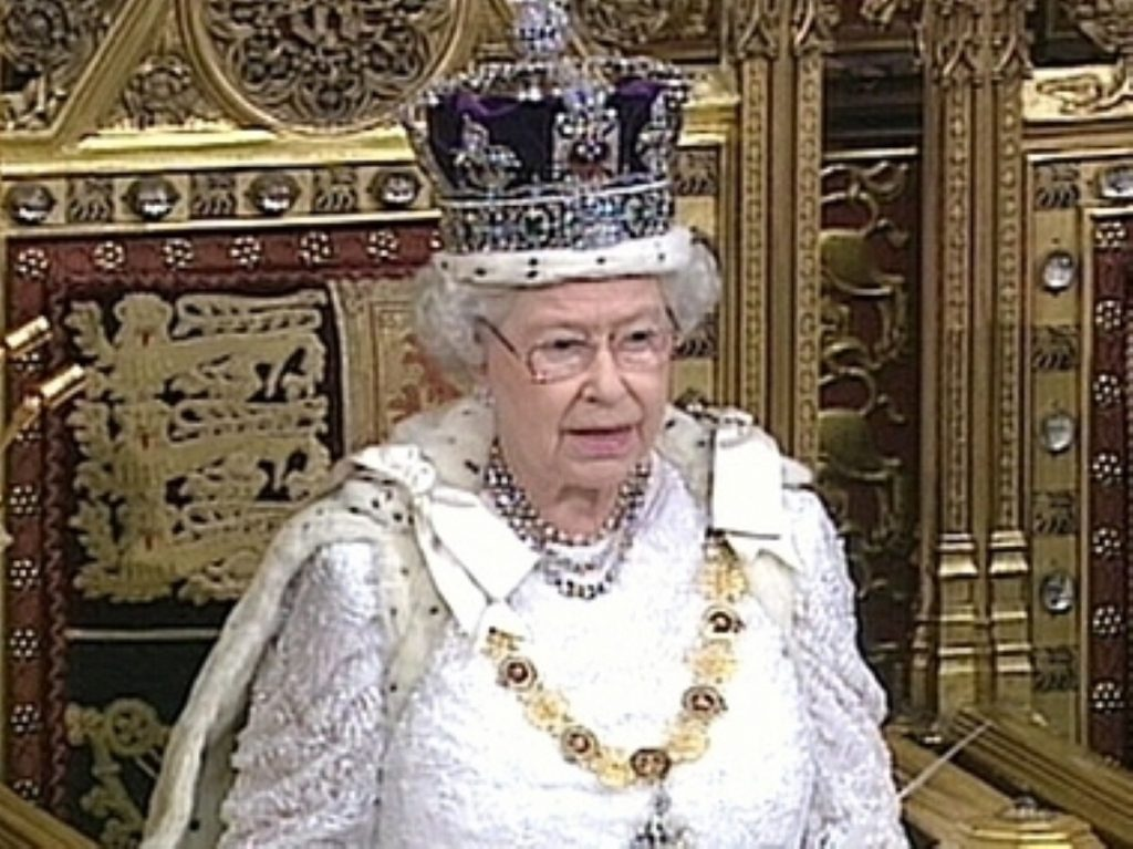 The Queen's Speech marks the state opening of parliament