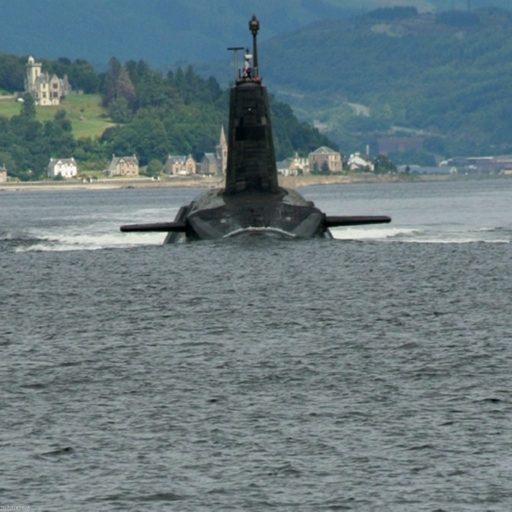 MoD has already ordered the steel for the next batch of Trident submarines