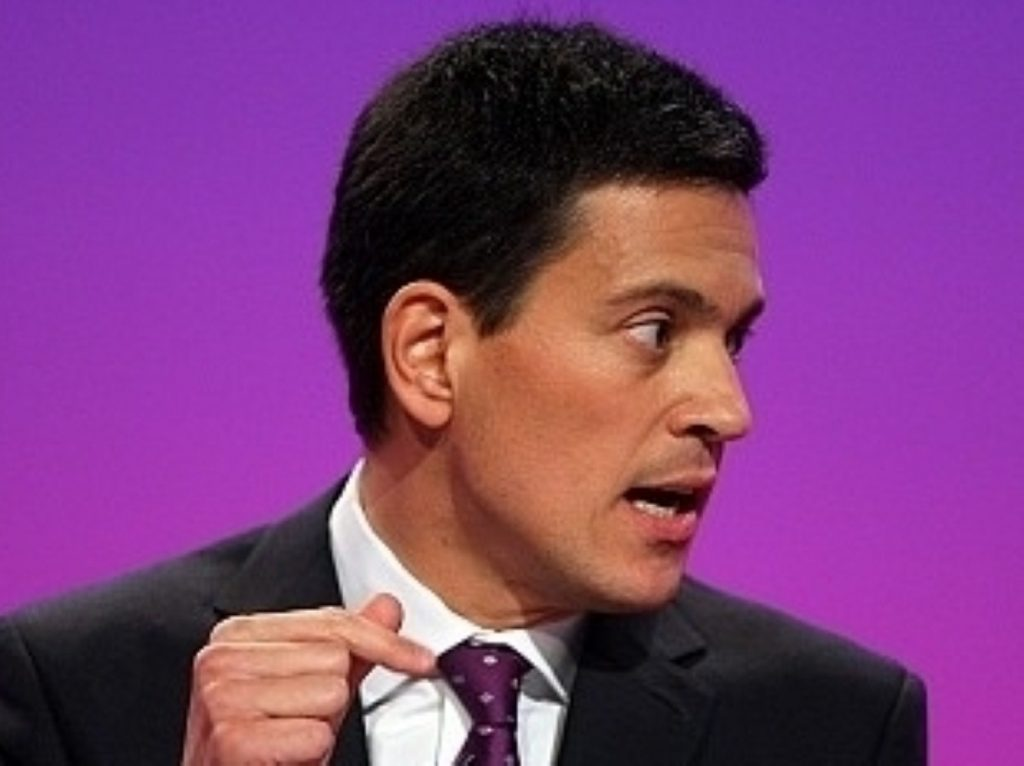David Miliband: Victim of the trade unions?