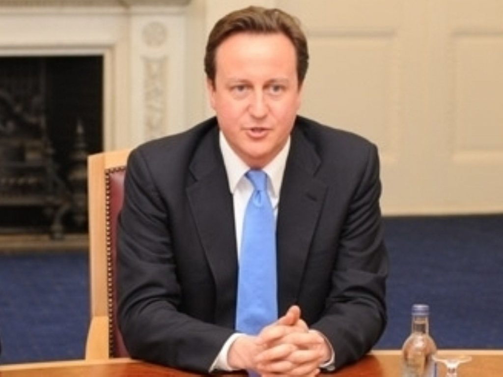 Cameron tried to bury the hatchet with the Pakistani president today