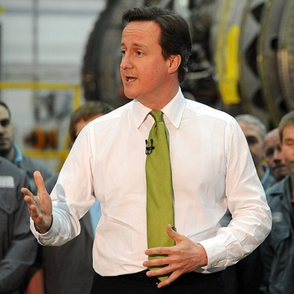 "David Cameron: ""get rid of all the green crap"""