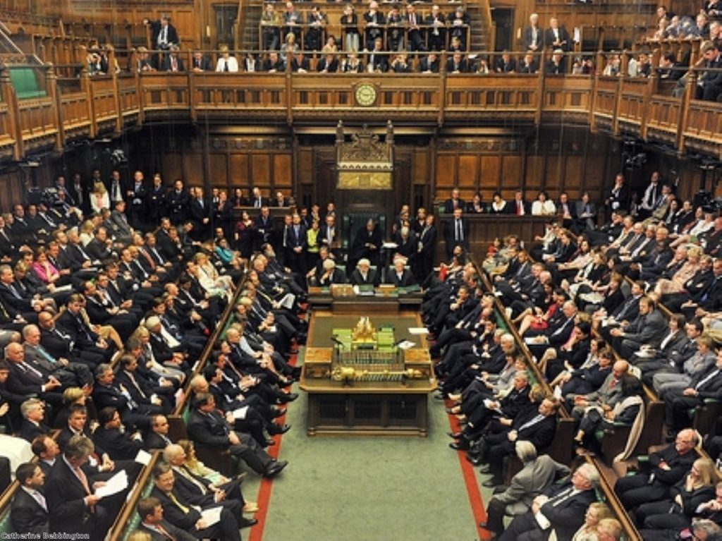 """The government supports a ban on parliamentary footage being used in """"a programme of political satire"""""""