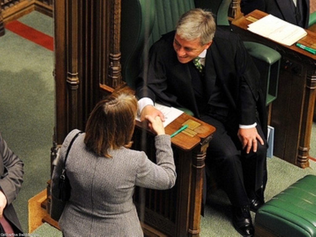 John Bercow wants to prise more Commons time from government control