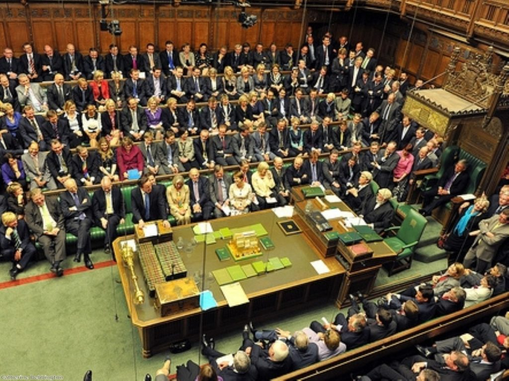 Government backbenchers were in an especially right-wing mood