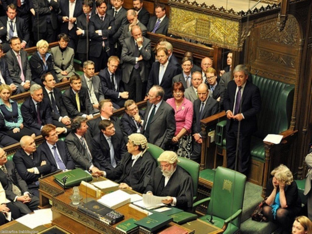 BBC film crew had rare access to film MPs at work
