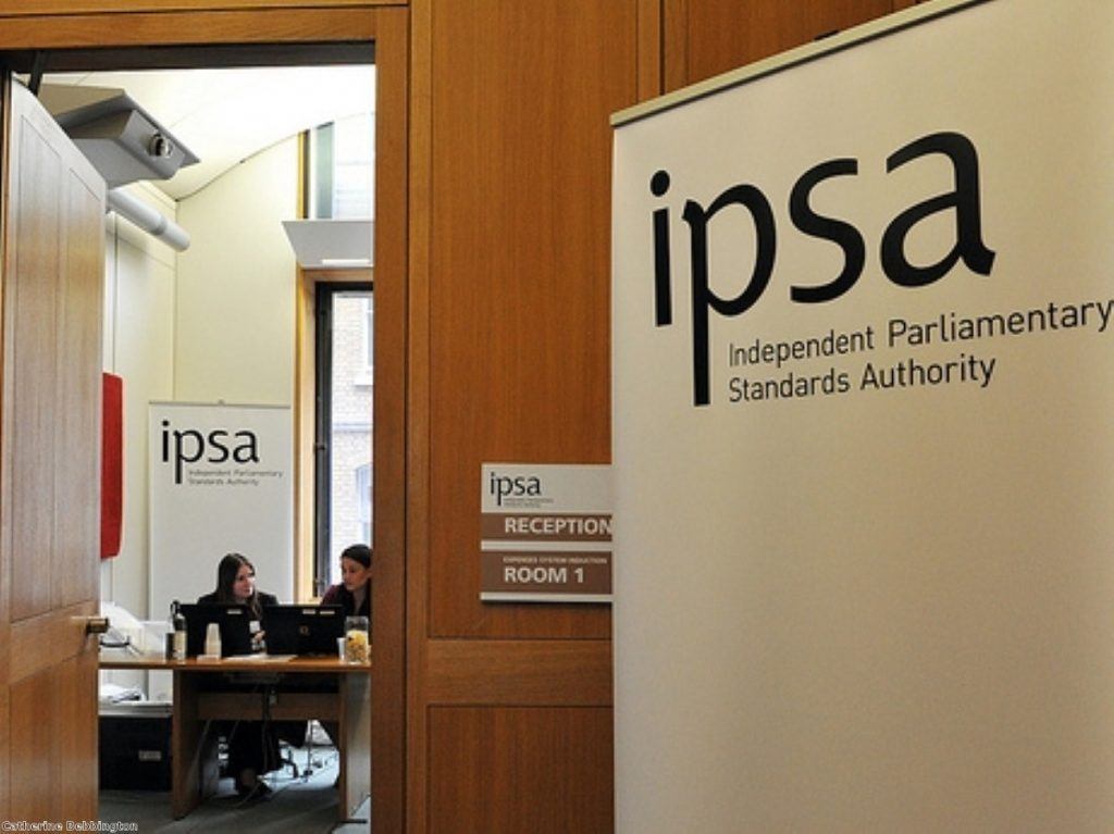 Expenses watchdog Ipsa's warm welcome for new MPs in parliament