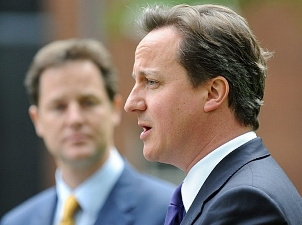 David Cameron and Nick Clegg press Cabinet colleagues on spending cuts