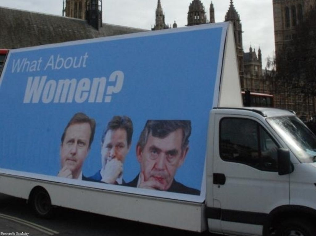 Women in parliament: The push continues.