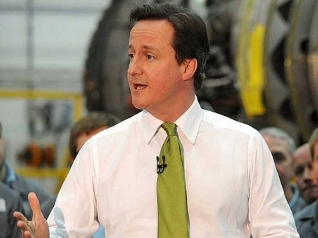 David Cameron says it is coalition's `duty` to cut spending