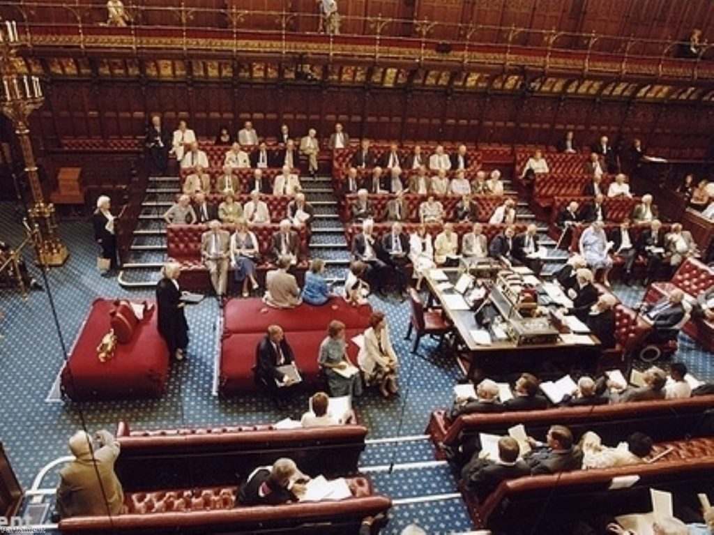 Peers have voted to uphold the proposed sanctions, meaning all three members will be suspended