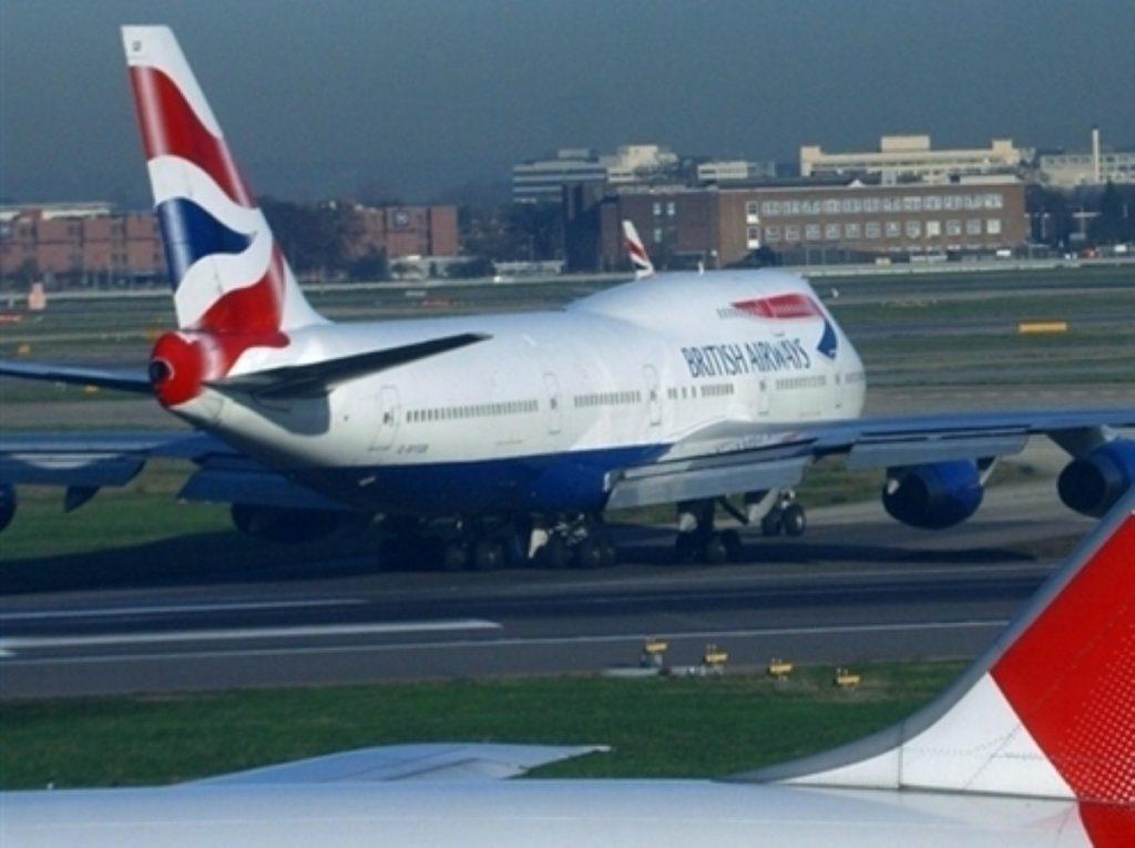 Sir Jock Stirrup has preferred British Airways to other airlines