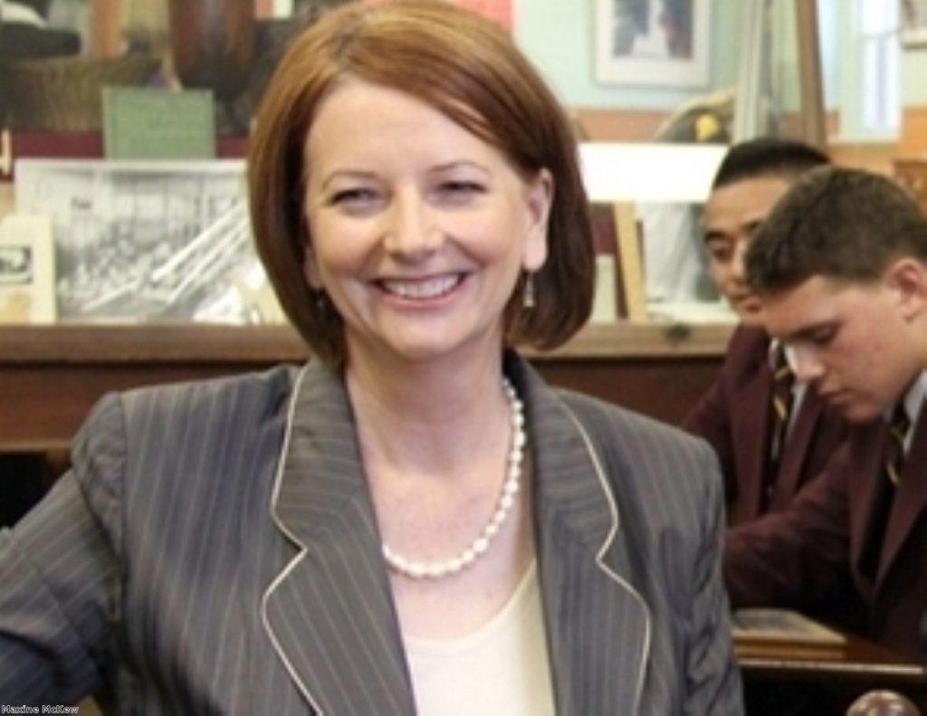 Julia Gillard was previously deputy Labor leader