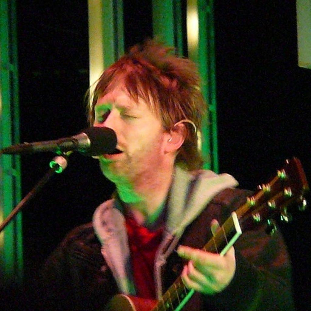 Radiohead: No bankers, no David Cameron