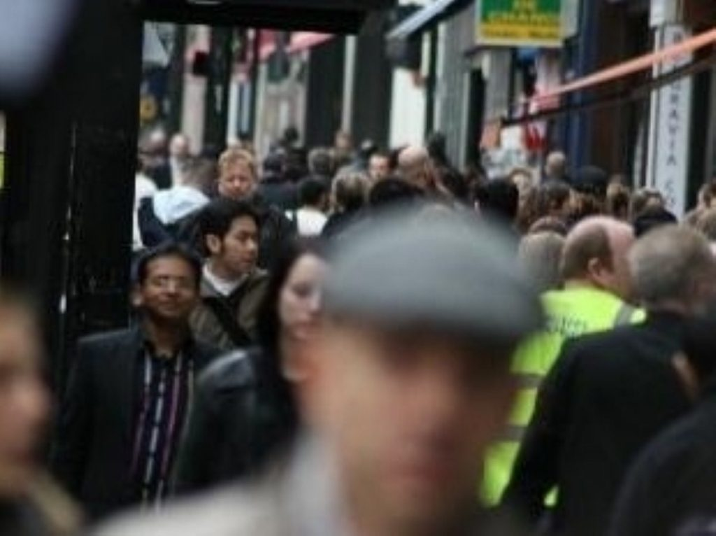 Trouble on the High Street? Consumer morale dropped last month.