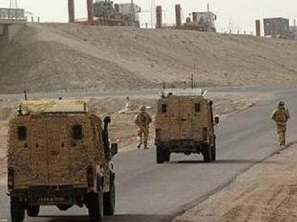 Iraq continues to overshadow British military