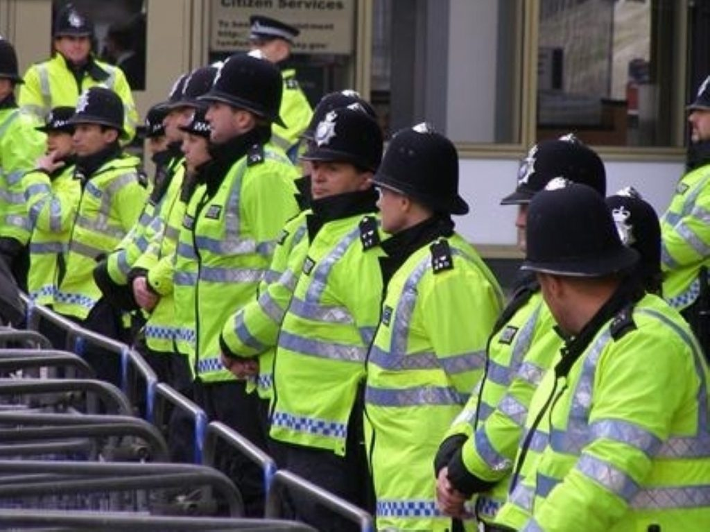 Police officer numbers under threat