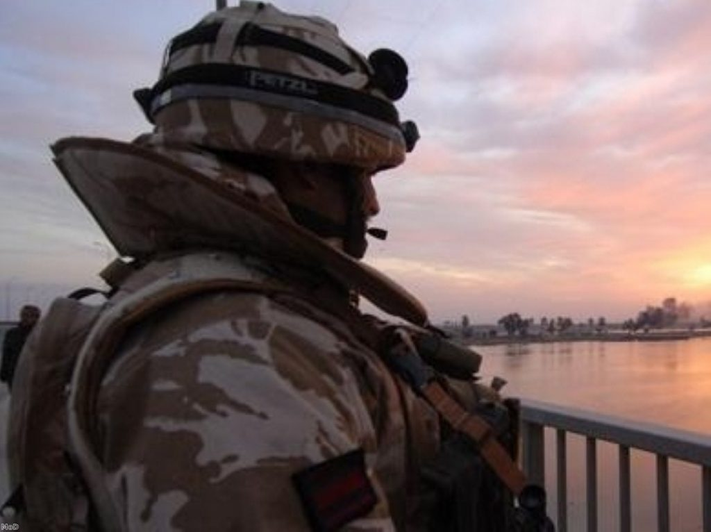 Sun setting on Britain's substantial military capabilities?