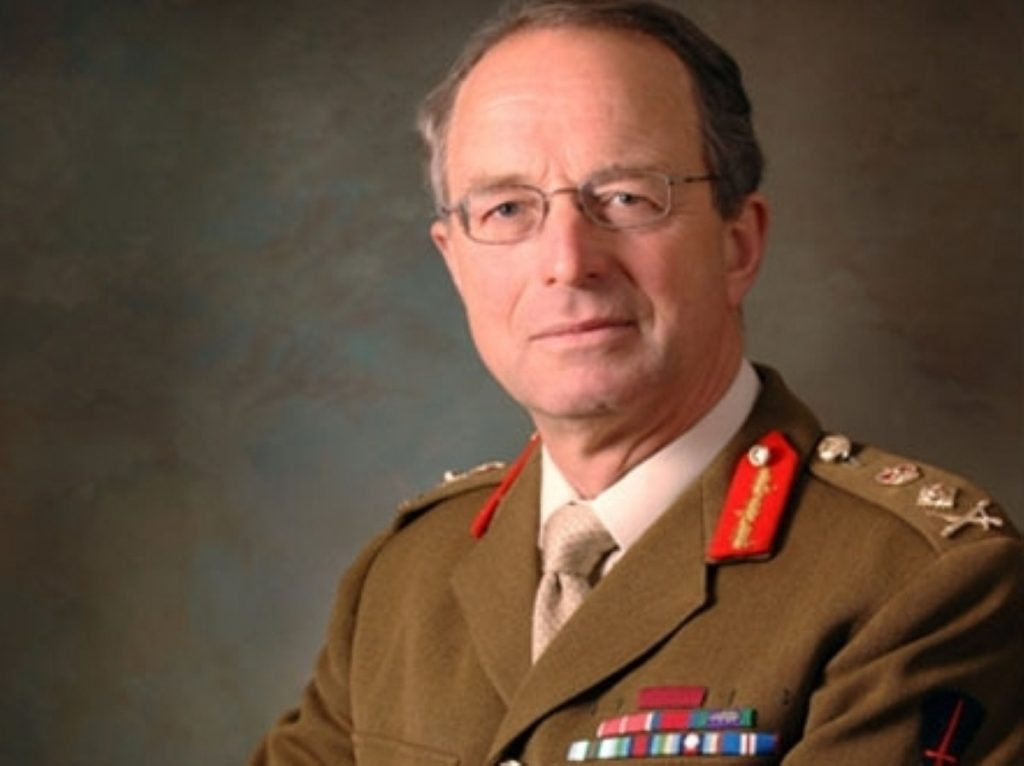 General David Richards will take over as chief defence staff in October