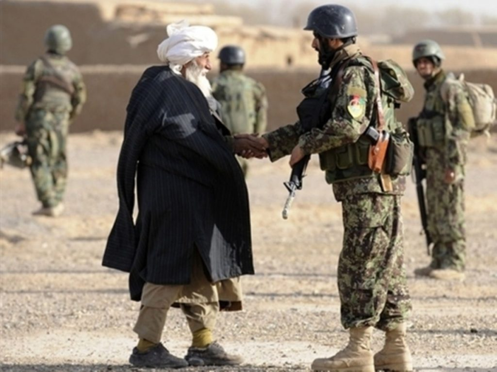 Cooperation with Afghan civilians is vital to success