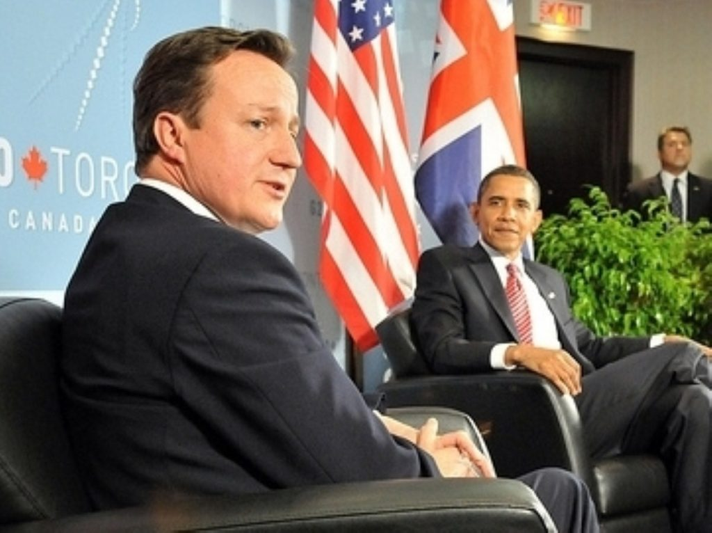 Cameron and Obama try to cement their relationship