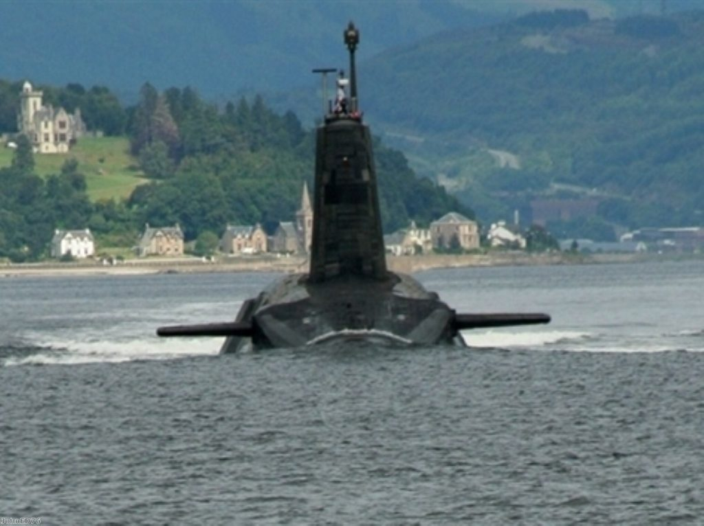 Britain's nuclear deterrent is delivered through four submarines