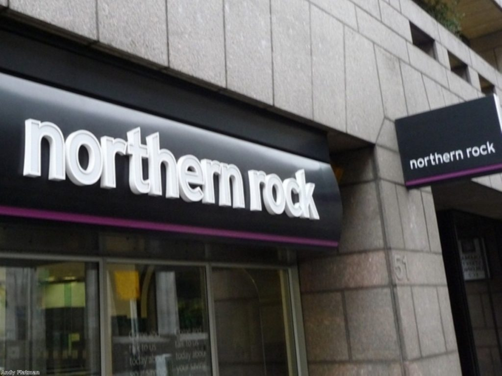 Northern Rock's collapse foreshadowed the financial crisis