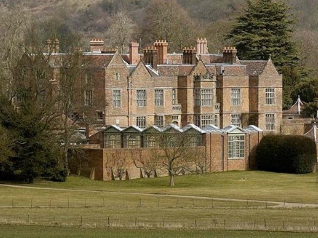 Chequers, where Cameron and Zardari will meet for dinner tonight - and talks tomorrow