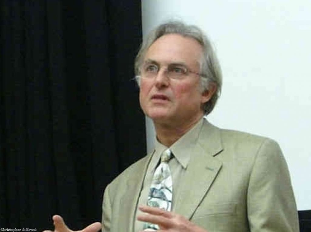 Richard Dawkins roused the rabble into a unified mob