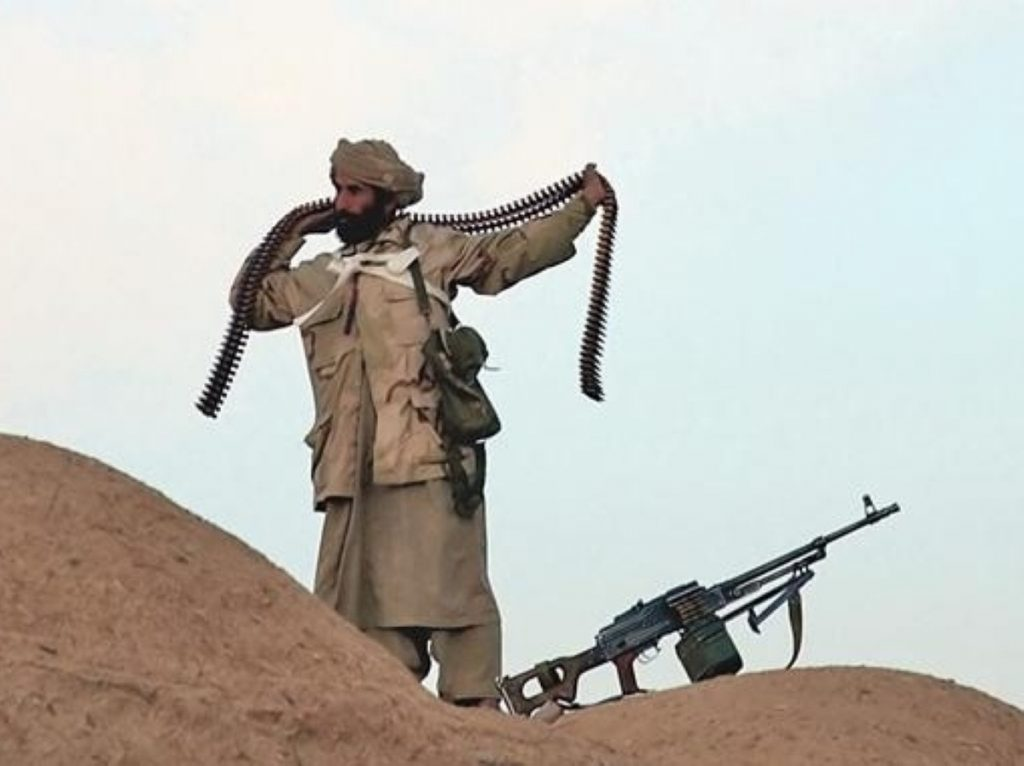 A Taliban fighter in Afghanistan