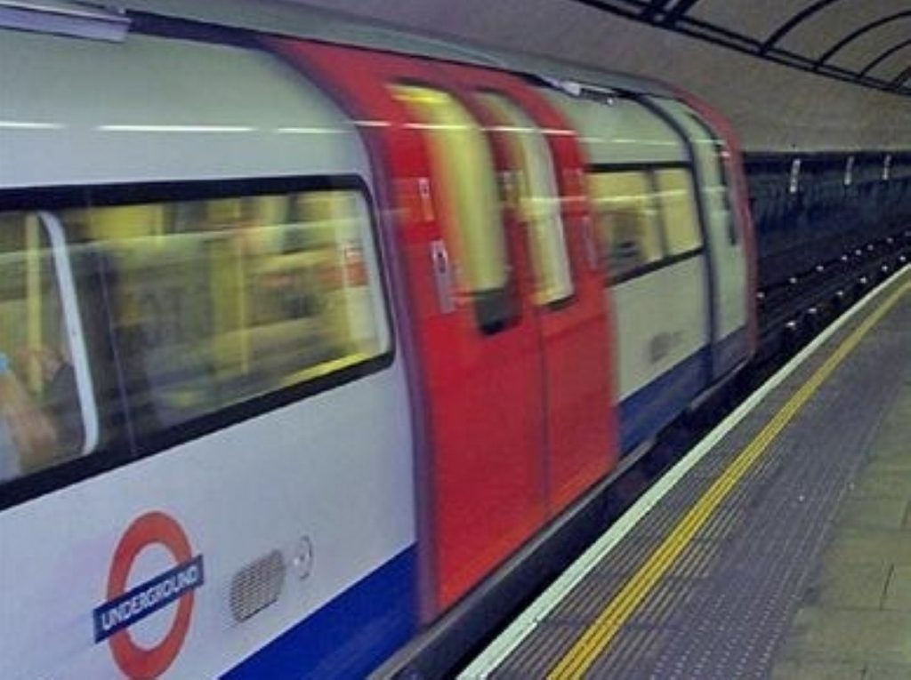 The tube strike begins at 15:00 BST.