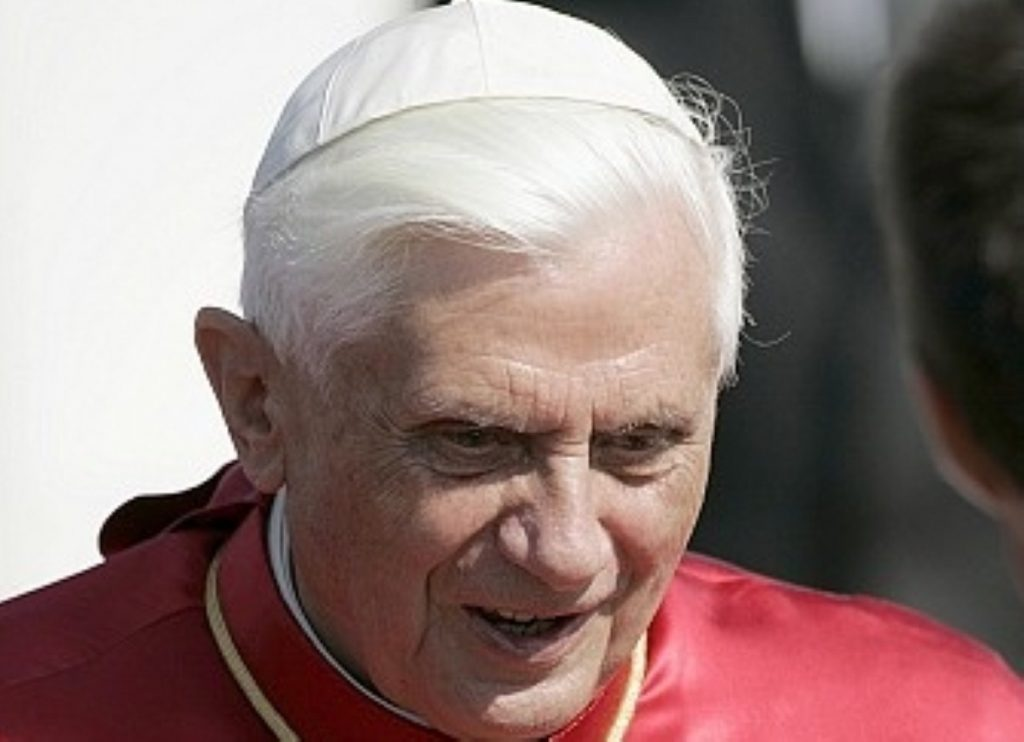 Pope Benedict: Enemy of moral relativism, resistant to change.