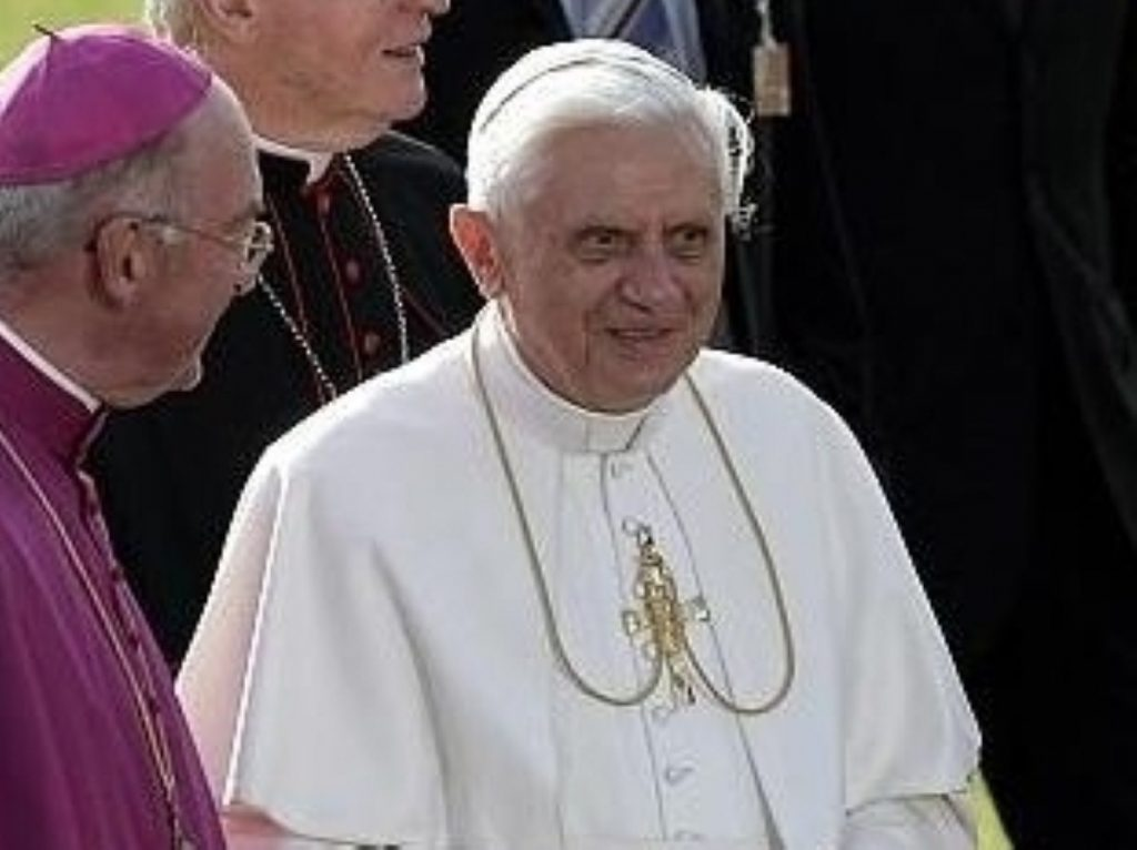 Pope Benedict: Your government and people are the shapers of ideas