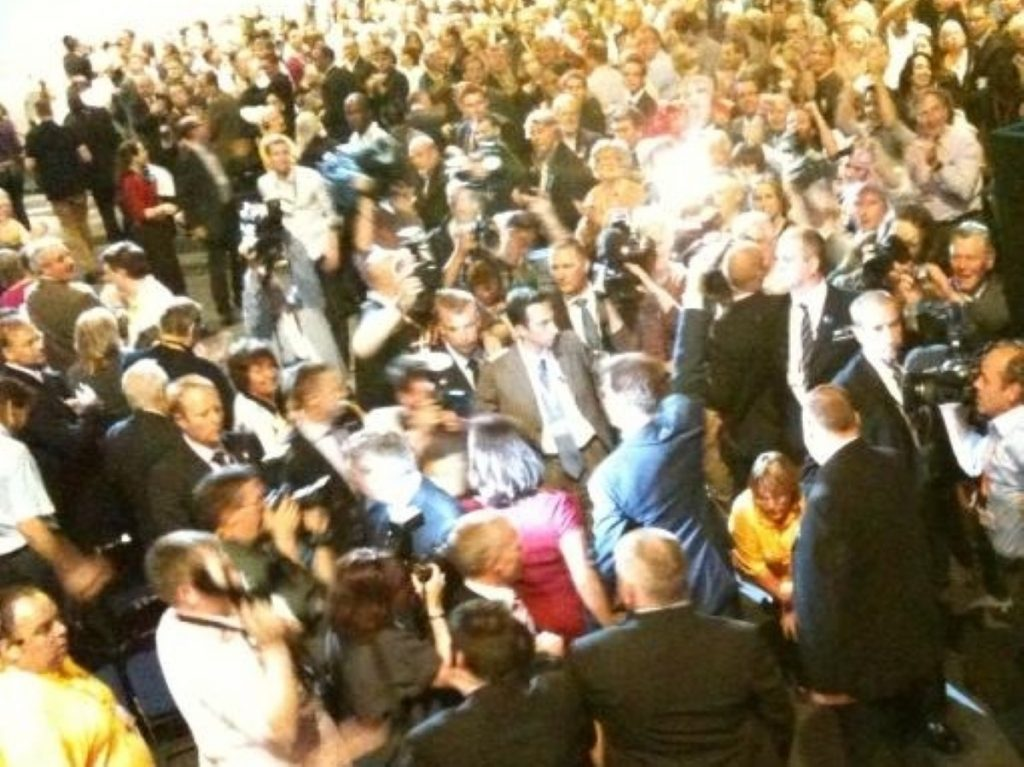 Adulation for the leader at a Lib Dem conference seems to have faded somewhat