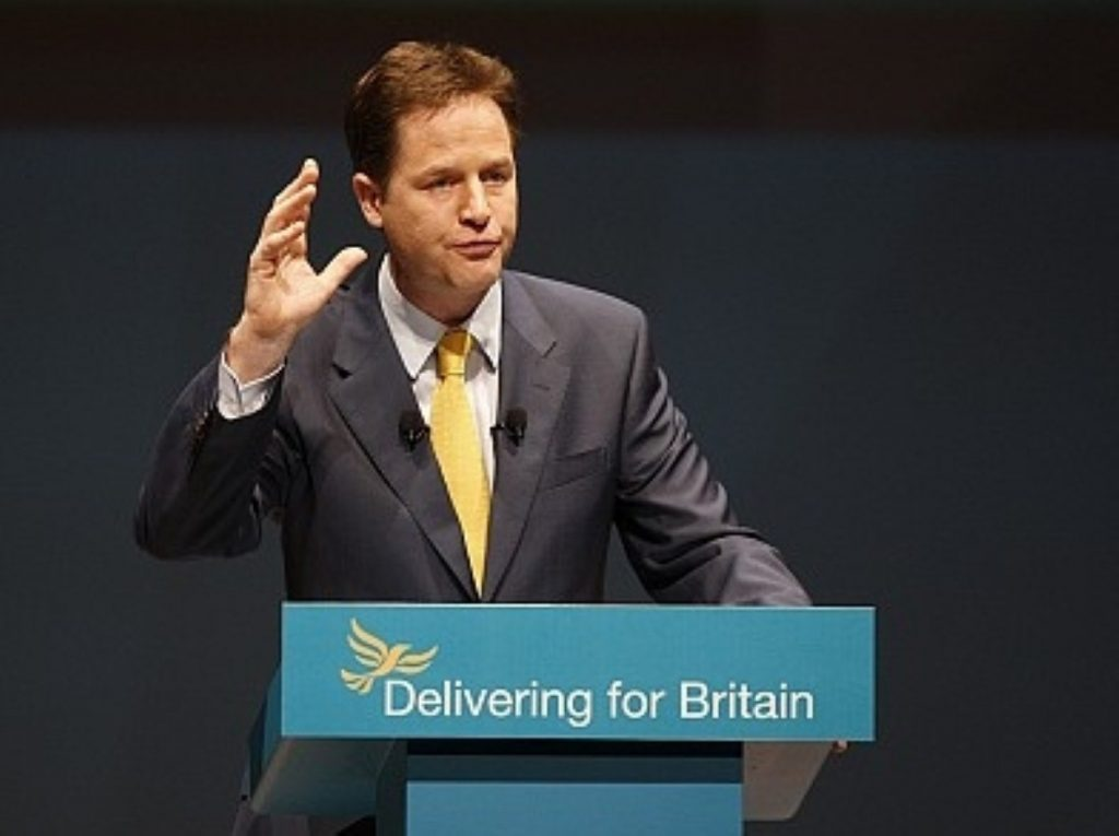 Nick Clegg: A drag on the Lib Dems in 2015?