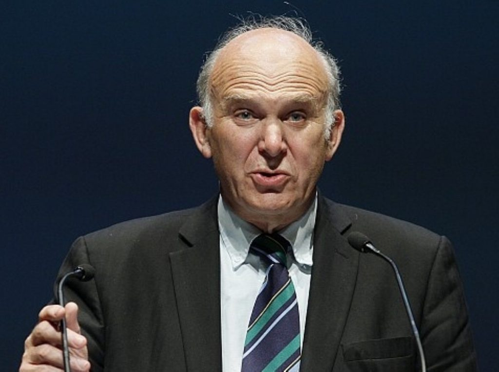 Vince Cable: Government risks the wrong kind of recovery