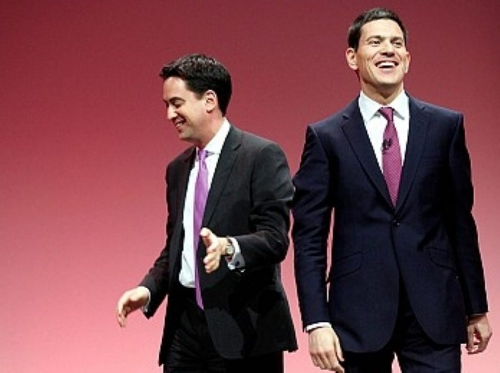 David Miliband's departure could well be a relief to his brother