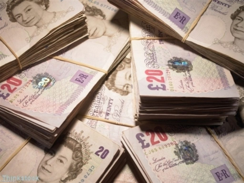 A second round of quantitative easing is needed according to a Bank of England figure
