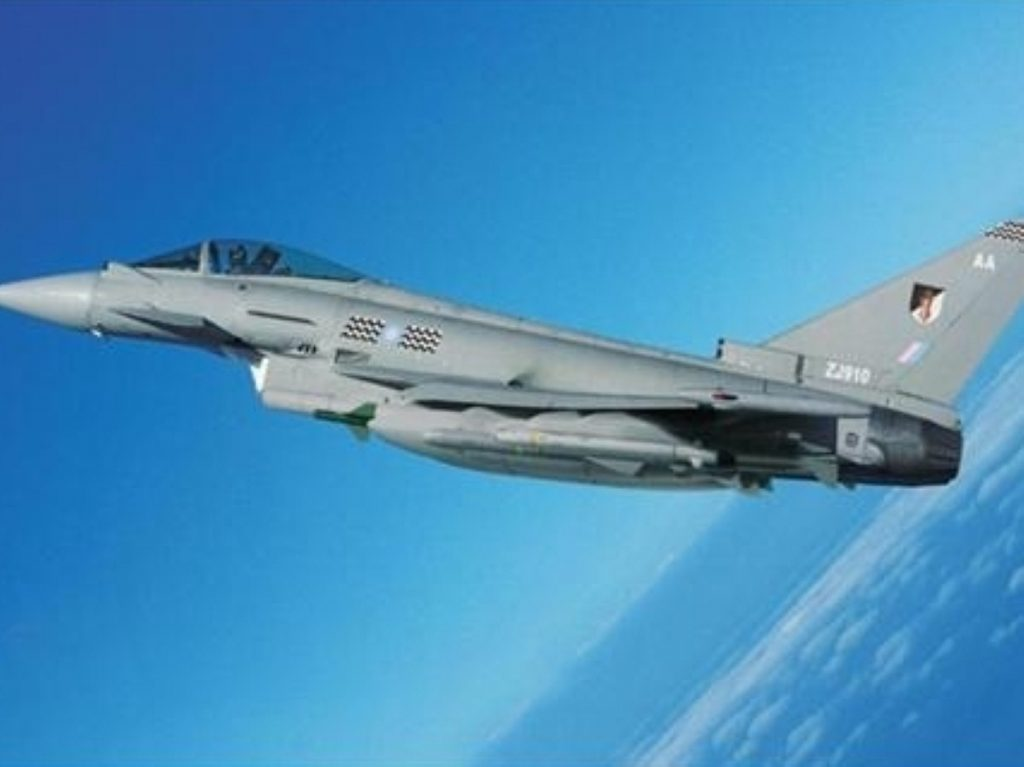 For the chop? The RAF and Royal Navy look set to bear the brunt of cuts