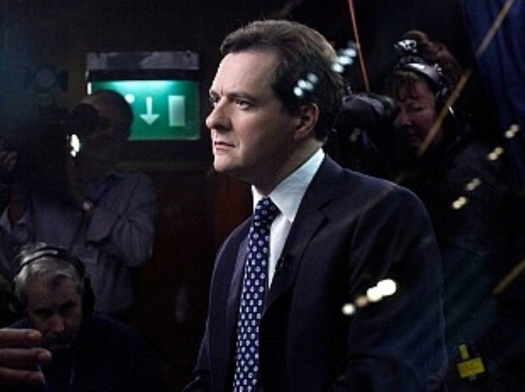 George Osborne buoyed by business support