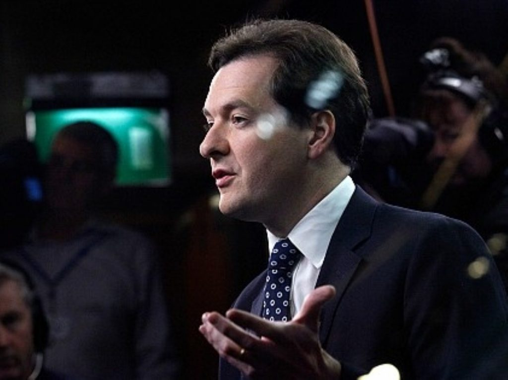 George Osborne delivers yet more bad news. Welcome to 2014