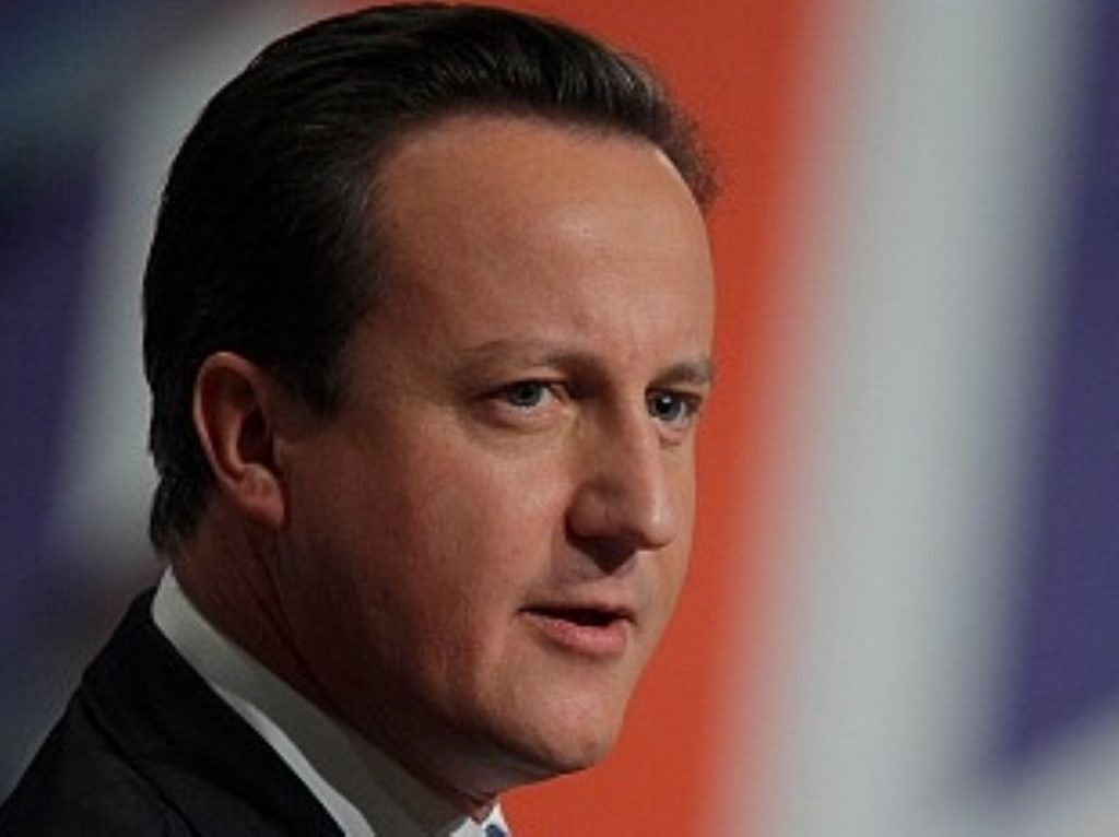 Cameron: I hope that in time this will lead to a greater political opening