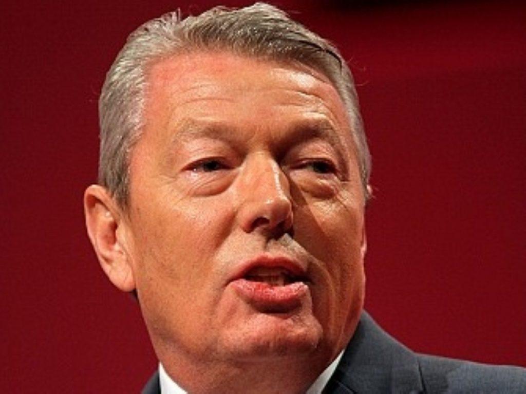 Alan Johnson flexes his economic muscles