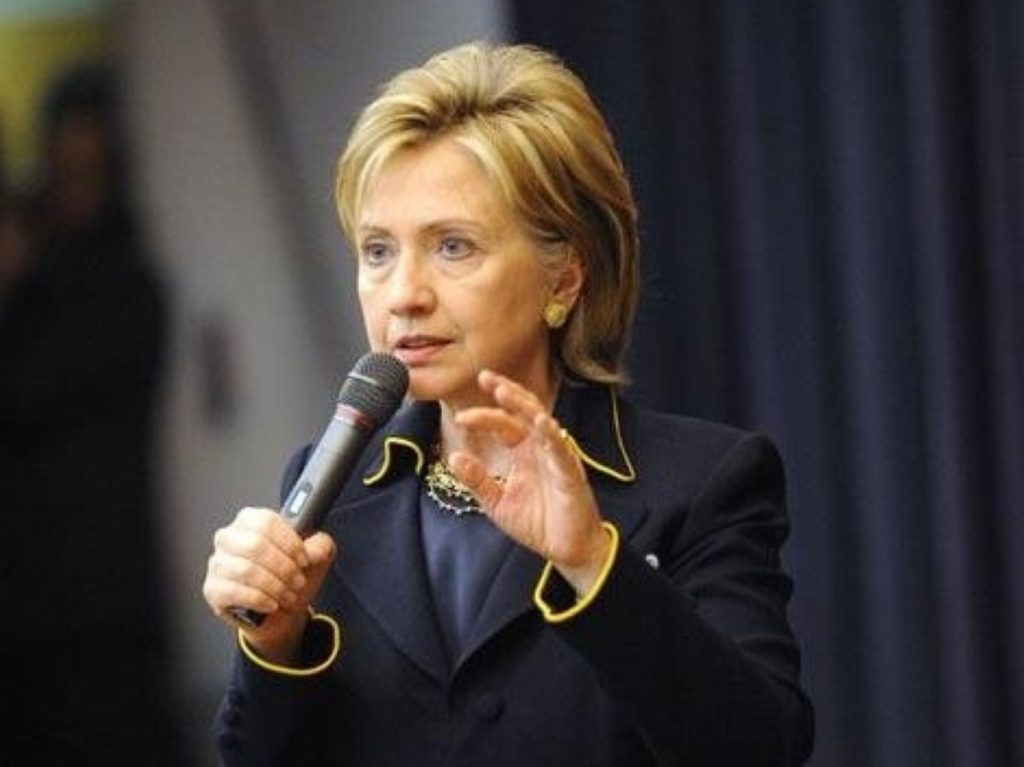 Clinton: Each country has to be able to make its appropriate contributions