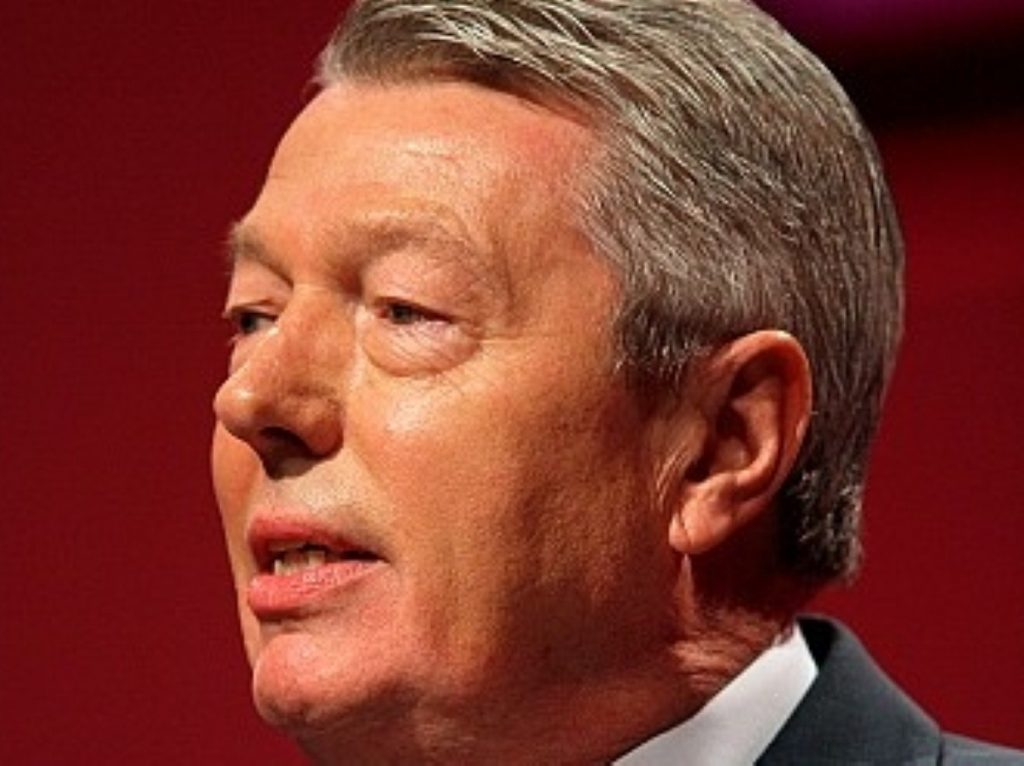 Alan Johnson: 'Ed has stated a simple fact'