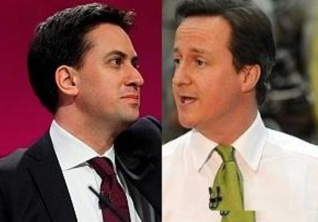 Cameron came out tops today, according to most commentators