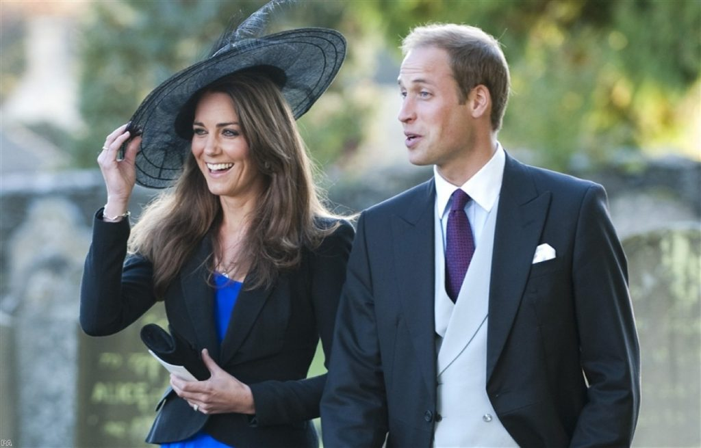 Prince William and Kate Middleton will marry on April 29th