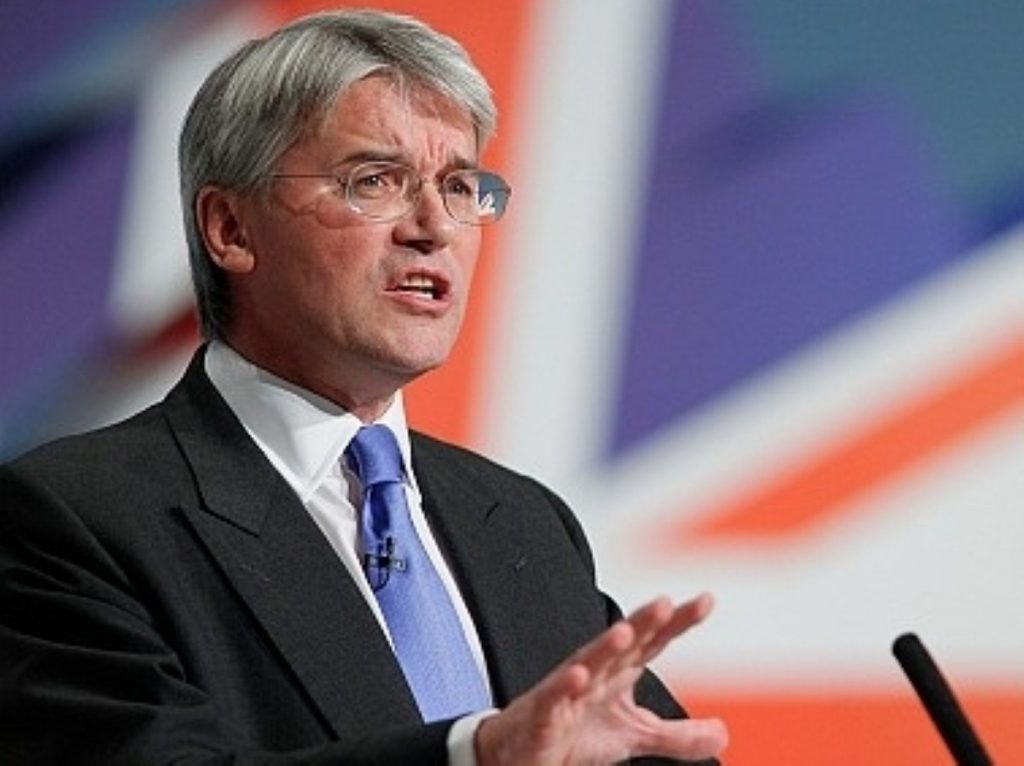 Andrew Mitchell at the 2010 Tory party conference