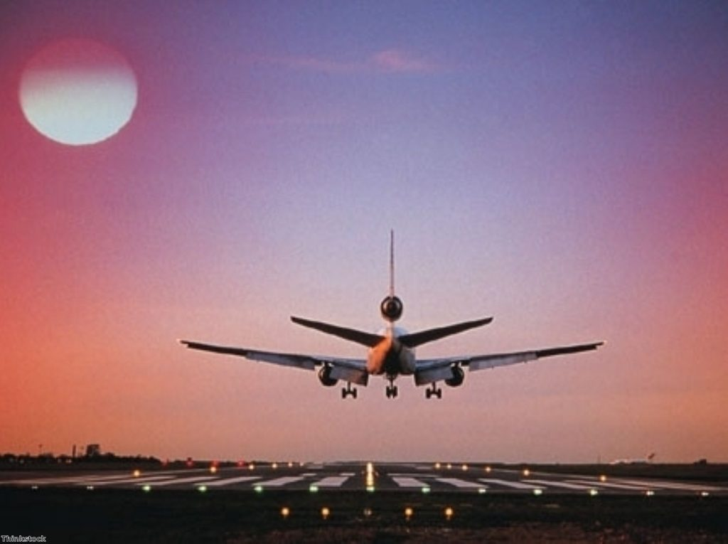 Britain is to review its security policies for air freight