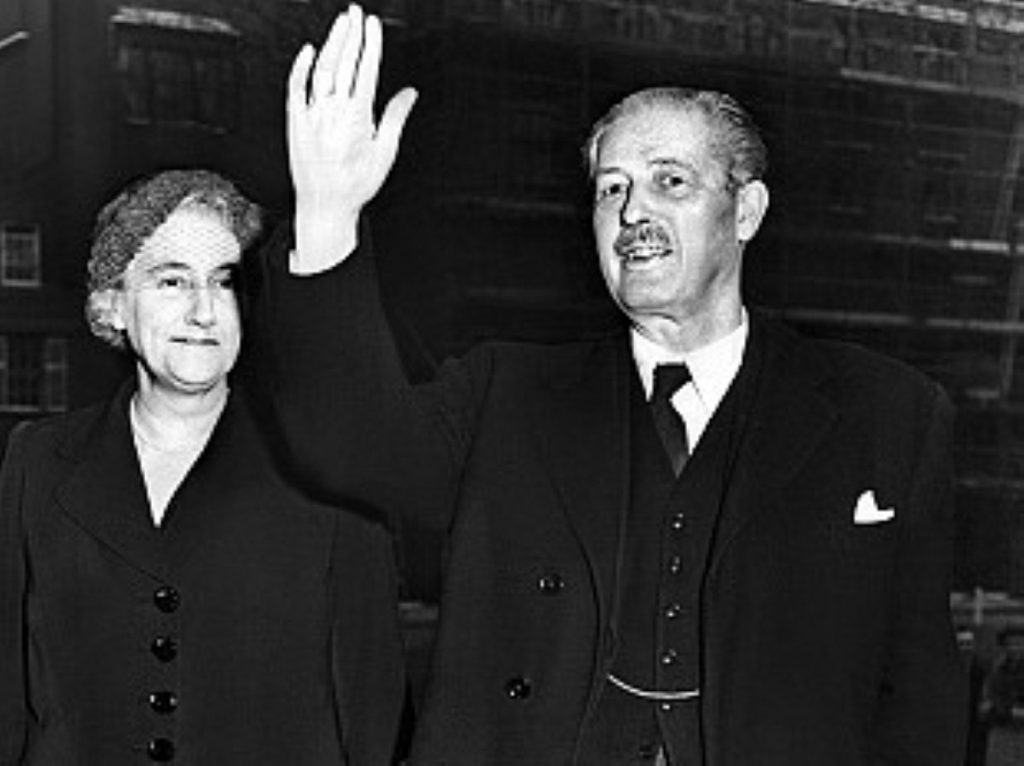 Harold Macmillan: Taken ill on the eve of the 1963 Tory party conference