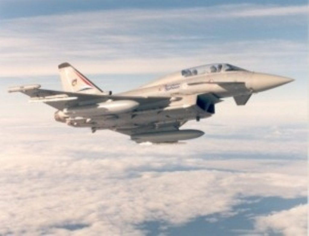 Lord Stirrup said Britain's air capabilities have largely been consumed by the Libyan crisis.